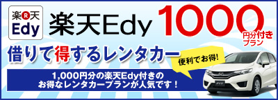 Edyギフト1000円分付(1日毎)付きプラン